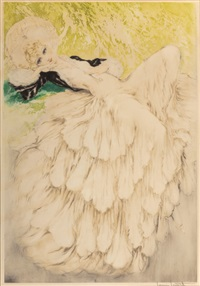dreaming eyes no.280 by louis icart