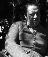 diego rivera, xochimilco, méxico, 1941 by leo matiz