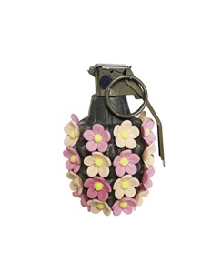 pineapple 'flower' (apricot pink) by kata legrady