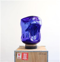 solid liquid – dark blue by arik levy