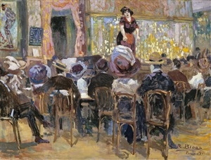 café chantant in paris by richard bloos