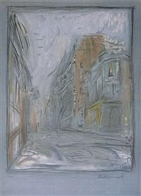 rue d'alésia by alberto giacometti