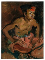 balinese dancer by carl fahringer