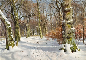 in charlottenlund forest by peder mork mönsted