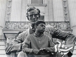 lincoln and boy by david johnson