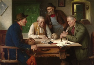 settling the account by josef wagner-hohenberg