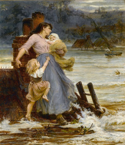 a flood by frederick morgan
