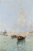 venice by franz richard unterberger