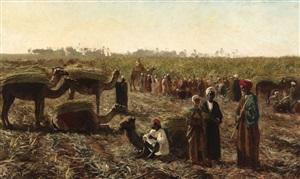 workers in a field by edwin lord weeks