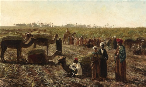 workers in a field by edwin lord weeks