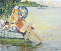 at the water's edge by edward cucuel