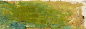 fragment de nympheas by claude monet