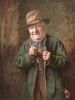 the buttonhole by charles spencelayh
