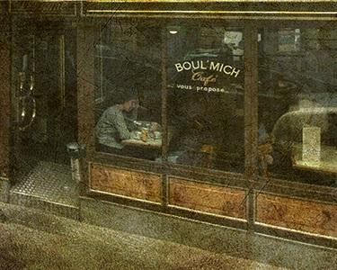 cafe boul'mich by dale johnson
