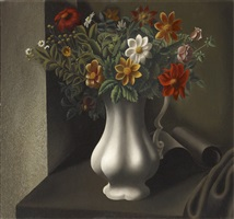 stillife with vase by raoul hynckes