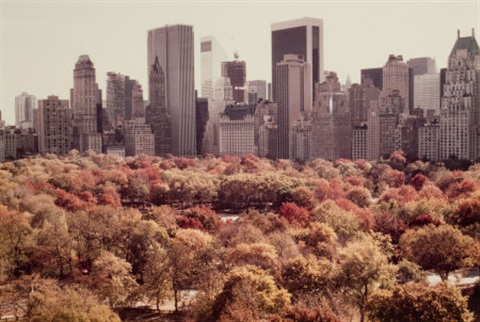 autumn in new york by ruth orkin