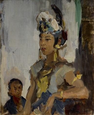 a javanese princess by isaac israels