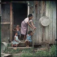 mother and children, mobile, alabama by gordon parks