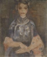 portrait of alexandrine by toon kelder