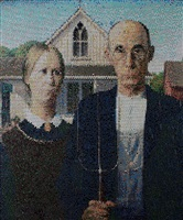 american gothic interpreted, injection by bradley hart