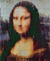 mona lisa interpreted, impression by bradley hart