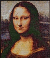 mona lisa interpreted, injection by bradley hart