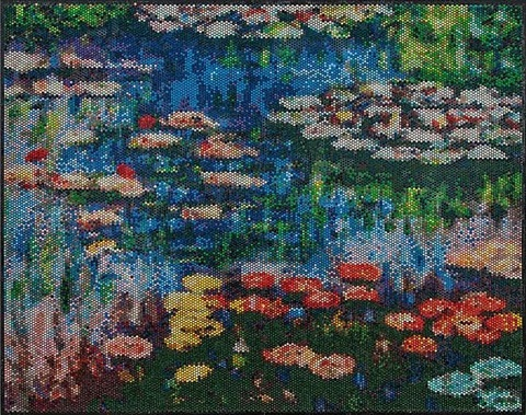 water lilies interpreted, injection by bradley hart