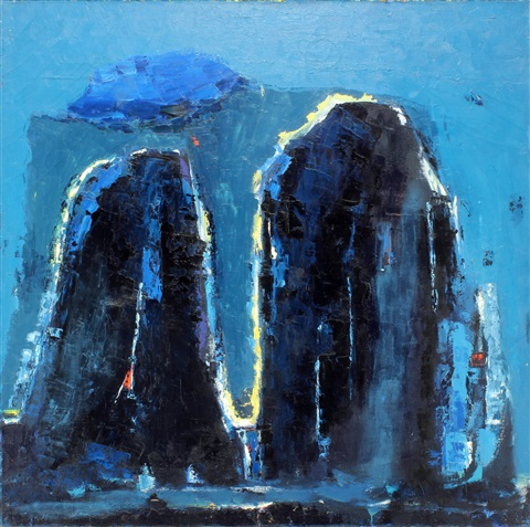 monoliths #2 by john depuy