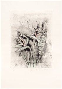from the collection of leslie sacks - rarely seen works from the gallery archive by jim dine