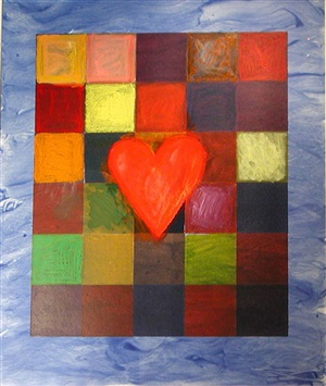the sea behind by jim dine