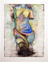 the french watercolor venus by jim dine