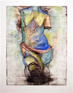 classical figuration in modern contemporary art by jim dine