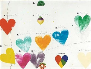 the world (for anne waldman) by jim dine