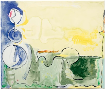 from the collection of leslie sacks - rarely seen works from the gallery archive by helen frankenthaler