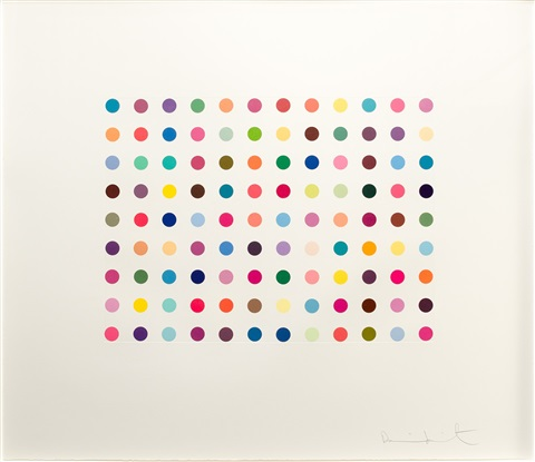 doxylamine by damien hirst