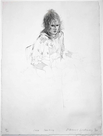 celia by david hockney