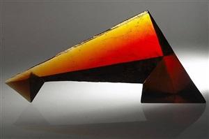 triangular dusk by lu chi