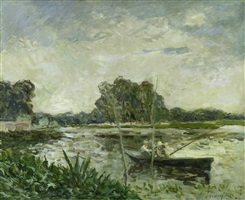 les pêcheurs by maxime maufra