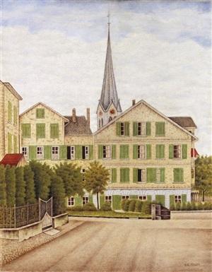 dorfplatz erlenbach, switzerland by sal meijer