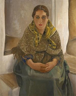 sitting woman by harmen meurs