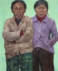 manual workers series no. 21 by shen hua
