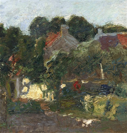 farm at machelen by jan toorop
