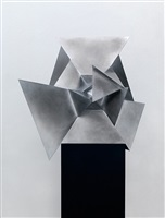 perimeter studies (icosahedron) d set 2 by conrad shawcross