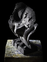 osiride addormentato screpolato by igor mitoraj