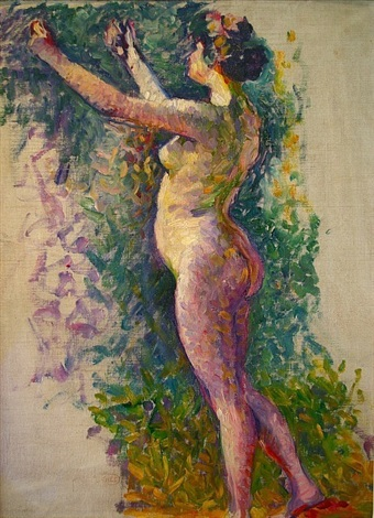 nu debout by henri edmond cross