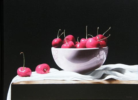 cherries by renato meziat