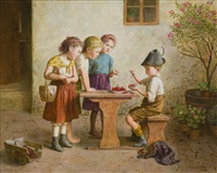 counting cherries by edmund adler