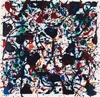 falling by sam francis