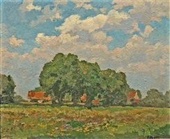 bavarian summer by fritz baer