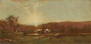 early landscape by ralph albert blakelock